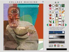 Generador de collage surrealistas