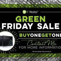 Avoid all the crazy people and lines out there! Enjoy your Black Friday on-line now! Get this awesome deal! Today is the last day to get your BOGO WRAPS! Have You Tried, You Got This, Bogo Wraps, Ultimate Body Applicator, It Works Global, See You Soon, It Works Products, Crazy Wrap Thing, Before Midnight