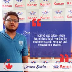 Congratulations to Manan Patel our student who has received his #studentvisa for #Canada!  We wish you the best for your future.