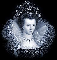 Queen Elizabeth I (1533-1603) was queen regnant of England & Ireland from 1558 until her death. Daughter of Henry VIII, she was born a princess, but her mother, Anne Boleyn, was executed 2 1/2 yrs. after her birth, & Elizabeth was declared illegitimate. Her 1/2 brother, Edward VI, bequeathed the crown to Lady Jane Grey, which was a contradiction to statute law. His will was set aside, Lady Jane Grey was executed, & in 1558 Elizabeth succeeded to the throne.