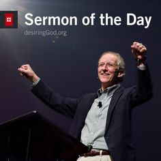 Check out this cool episode: https://itunes.apple.com/us/podcast/sermon-of-the-day/id955100693?mt=2&i=367647916