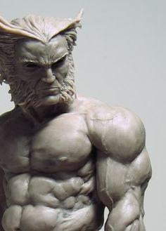 based on Esad Ribics Logan Marvel comics Comic Books Art, Comic Art, Anatomy Sculpture, Wolverine Art, Modelos 3d, Anatomy Art, 3d Prints, Sculpture Clay, Figure Drawing