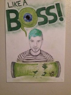 My own drawing of JACKSEPTICEYE