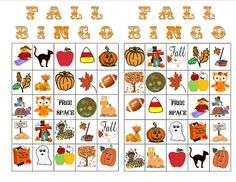 photo regarding Fall Bingo Printable referred to as 183 Least complicated Bingo // young children photos within just 2017 Bingo for young children
