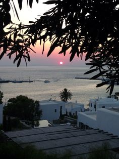 View from one of our beautiful villas here in Mykonos