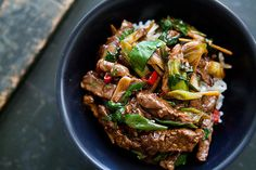 Stir Fry Ginger Beef (photo)