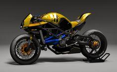 Ricordate la Ducati Monster MS4R  di Paolo Tesio?   Per la naked di Borgo Panigale, Paolo ha allestito un nuovo bodykit estetico, denomina...