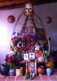 Altar de Muertos en Oaxaca