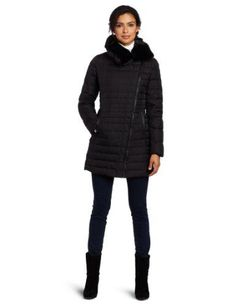 Via Spiga Women's Gorgeous Down Filled Jacket With Assymetric - GET DISCOUNT at http://glashions.com