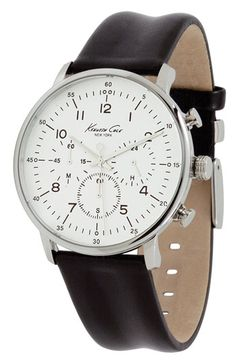 Kenneth Cole New York Round Case Watch available at #Nordstrom