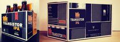 KEXP Transistor IPA — The Dieline - Branding & Packaging