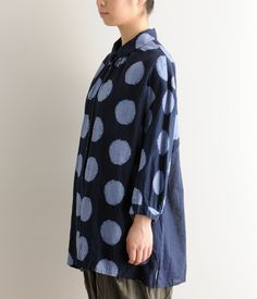 I'm not entirely sure about the shape of this, but I love it for the oversize polka dots.