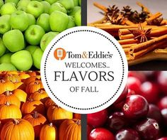 Hello Fall! We're so excited for all your delicious flavors.. Only at Tom & Eddie's! #Kentsdeals