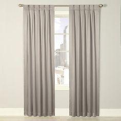 Royal Velvet 174 Viola Grommet Top Scalloped Curtain Panel
