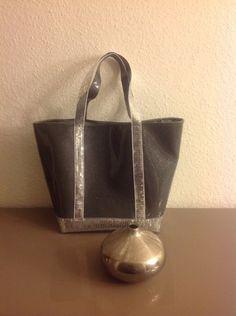 Cabas à paillettes simili cuir Swarovski : Sacs à main par vinyleaddiction