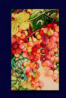 Grapes by Sabine Krummel