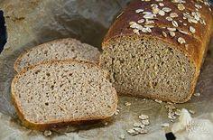 Haferflocken-Buttermilch-Brot