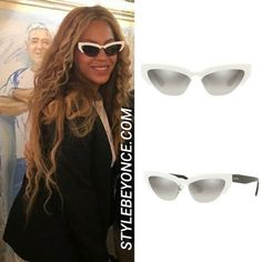 0bb8cfe3d2f4 BEYONCÉ WEARS MIU MIU IN ANTIBES Bey visited the popular restaurant Le  Michelangelo in Antibes