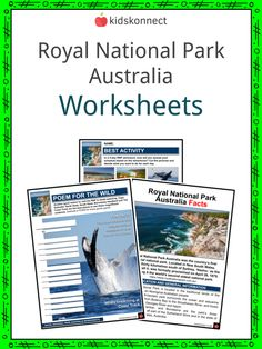 Royal National Park Australia Facts & Worksheets | KidsKonnect Australia Facts, Wild Park, Geography Worksheets, The Settlers, Rock Pools, Famous Landmarks, Swimming Holes, New South, Day Hike