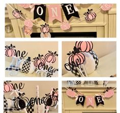 Excited to share this item from my #etsy shop: Pumpkin 1st Birthday Photo Banner, Birthday package ,Our little pumpkin is turning one .Pink and Black Pumpkin  First Birthday Girl Pumpkin 1st Birthdays, Pumpkin Birthday Parties, First Birthday Parties, First Birthdays, Pumpkin Patch Birthday, Pumpkin First Birthday, Baby Girl First Birthday, Birthday Photo Banner, 1st Birthday Banners