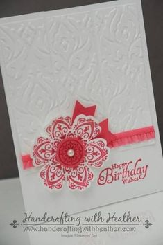 Beautifully Baroque Mixed Bunch Birthday by hvanlooy - Cards and Paper Crafts at Splitcoaststampers