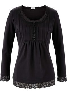 pretty longsleeve-shirt with lace ♥