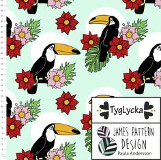 Toucans mint by Tyglycka