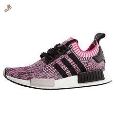 Adidas - Nmd R1 Primeknit Women Shock Pink - BB2363 - Size: 7.5 - Adidas sneakers for women (*Amazon Partner-Link)