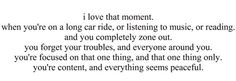 I experienced this when listening to Band Of Horses while traveling, it was amazing and somehow emotional.