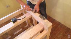 Fácil fazer uma bancada para serra circular de madeira e furadeira                                                                                                                                                                                 Mais                                                                                                                                                                                 Mais