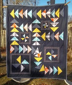 I made it! I finished up my Riley Blake challenge quilt in time to meet the deadline for the challenge.   This is the quilt I came up with,...