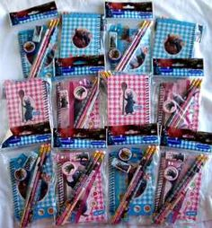 12 Disney Ratatouille Party Favor Stationery Gift Set