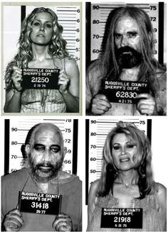 My favorite horror movie from the brilliant and twisted mind of Rob Zombie. This movie is cult and not for the faint of heart. 'The Devil's Rejects' Rob Zombie Art, Rob Zombie Film, Zombie Movies, Scary Movies, Horror Icons, Horror Art, Horror Movie Characters, Horror Movies, Horror Movie Tattoos