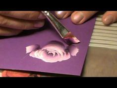Trendy Flowers Painting Rose One Stroke Ideas Painting & Drawing, One Stroke Painting, Tole Painting, Fabric Painting, Painting Flowers, Acrylic Painting Techniques, Painting Videos, The Art Sherpa, Beginner Painting