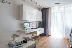 Biuro w domu #office #furniture #interiors #home #biuro #interiordesigner #home Office Desk, Corner Desk, Interior Design, Bedroom, Modern, Furniture, Home Decor, App, Living Room
