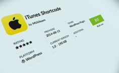 iTunes Shortcode is our first, purchasable WordPress Plugin, which allows you to present always up-to-date information about iTunes Store products in posts in a simple and elegant way and to earn money in the iTunes Affiliate Program.