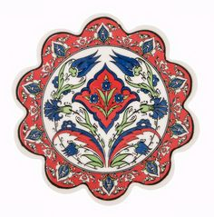"This multicolor trivet / hot pad can be used as a decoration item with its unique color in your house  Impress your guests on your dining table as a part of your serving utensils (handwash only)  DIMENSIONS  7.1"" / 18 cm Round"