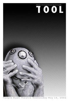 2006 Tool Cyberman Silkscreen Concert Poster by Emek