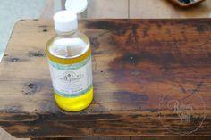 I Restore Stuff: Using Miss Mustard Seed's Milk Paint - Hemp Oil [What a Difference it Makes]