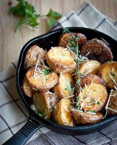 perfect potatoes? herbs & cheese