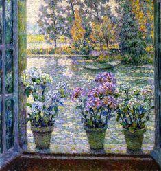 Henri Eugene Augustin Le Sidaner (1862 - 1939)   Hydrangeas
