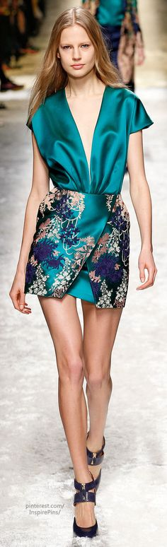Fall 2014 Ready-to-Wear Blumarine LBV
