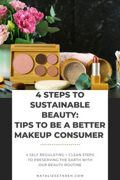 """There is a massive impact on the earth from hard-to-recycle cosmetic packaging, as well as ingredients in the products that aren't just harmful to the planet (particularly aquatic and marine life) but also to us! It really all comes down to self-regulation and making """"cleaner"""" choices can help preserve us and the earth. Easy Makeup Tutorial, Makeup Tutorial For Beginners, Gifts For Makeup Lovers, How To Wear Makeup, Power Of Makeup, Makeup Needs, Cosmetic Packaging, Drugstore Makeup, Simple Makeup"""