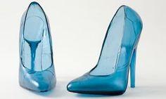 I tacchi a spillo di vetro firmati Åsa Jungnelius   High Heels made of Glass