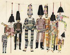 1920 folio of illustrations by the Prague-born German artist Walter Trier (1890-1951)