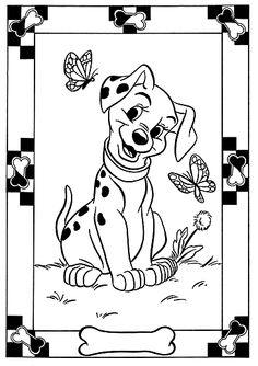 Dibujos para Colorear Disney 265