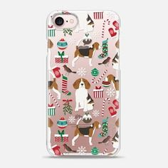 Beagle must have gifts for christmas beagle lover cell phone case by pet friendly festive holidays