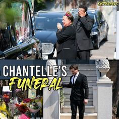 Credit to @eastenders : Thursday 8th October: It's the day of Chantelle's funeral. Mitch and Karen are struggling. They are facing every parent's worst nightmare. #EastEnders  Theme inspired by @spoileroaks