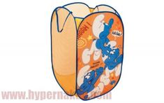 Skladací kôš na hračky prádlo Šmolkovia Kos, Lunch Box, Bento Box, Aries, Blackbird