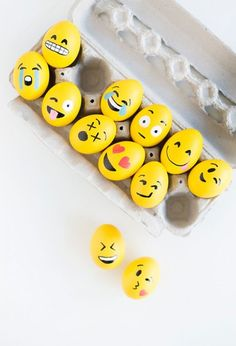Easter emoji eggs